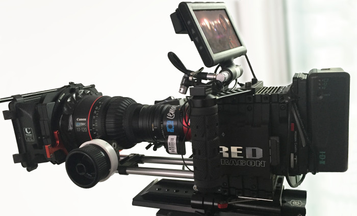 Don't you hate it when your matte box doesn't fit? Tape to the rescue :P
