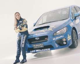 Subaru STI NR4 Ft Molly Taylor