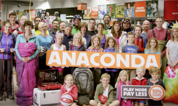 Anaconda 'Play More Play Less' TVC 30 Sec
