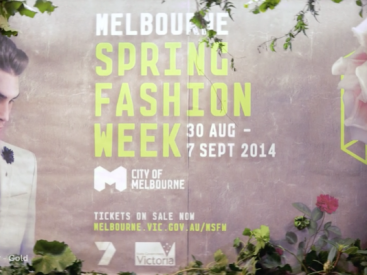 Melbourne Spring Fashion Week – TVC 2014