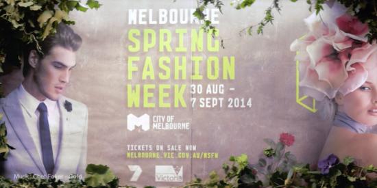 Melbourne Spring Fashion Week – TVC 2014