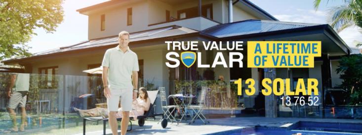 True Value Solar – April Campaign